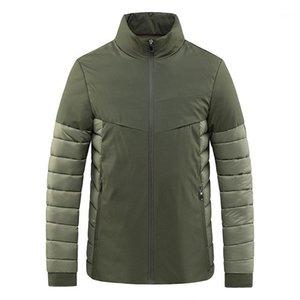 Seveyfan 2021 мужские хлопковые куртки ультра легкие пэчворки теплые пальто повседневные зимние куртки для Male1