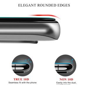 10D 곡선 방폭형 HD 풀 커버 아이폰 11 Pro X XS Max 7 8 Plus Prot Qyllxb Qpseller에 대 한 강화 유리 화면 보호기