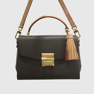 Vendita calda classica BEST 3a QUALIY 25 cm Borsa a tracolla in vera pelle, borse tote moda, borsa da donna, borse multifunzionali a croce 41581