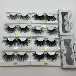 Faux Mink Lashes 25 mm 10 20 Pairs Wholesale Natural Wispy 3D False Eyelash 100% Cruelty Free Dramatic Cosmetics Lashes Vendors