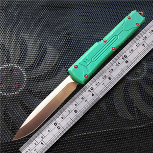 AUTO hunter knife T6-6061 aluminum alloy handle camping survival outdoor EDC hunt Tactical tool dinner kitchen knife