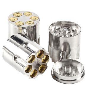 Revolver Sharpstone Herb Grinder Grinder Grinder Grinder Zinc Lega di metallo Smerigliatrici 40mm Diametro Diametro 3 parti Asciugamani delle erbe Asciugamano degli erbe