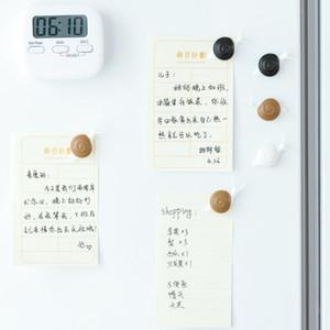 Cute caracol Frigorífico Imán Souvenir plástico Refrigerador Imán Insecto Titular de la tarjeta 3D Pegatina de mensaje para niños Cocina Decoración para el hogar BBYAWU