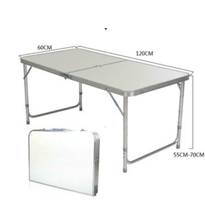Portable Aluminum 6ft Folding Table In Outdoor Picnic Party Dining Camping Table