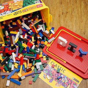 Kids Classic Building Blocks Set City Bricks Toy For Children Educational Bulk Desiner Bricks Construction Toy Blocks Base Plate Z1201