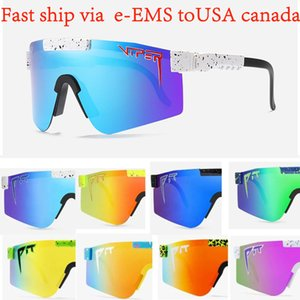 2020 Pit Viper Original Sport google TR90 Polarized Sunglasses for men women Outdoor windproof eyewear 100% UV with box