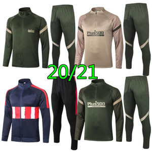 2020 Madrid Surversement Jacket Training Suit Soccer Tracksuits 2021 Atletico Tracksuit Giacca da calcio Set da calcio