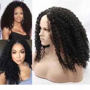 cheap hair wigs long fashion Kinky curly synthetic 100% fiber african american can be braided wigs baby hair perucas front lace wig 26inch