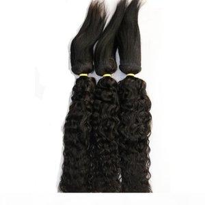 Brazilian Virgin Water Wave Braid in Bundles Braid in Weaves Human Hair 3 Bundles Unprocessed Top Quality Hair Extensions 16 18 20 inch