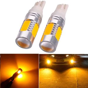 T10 5730 33SMD Car LED Lamp Signal Light Width License Plate Bulb Lamp Yellow