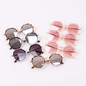 New Fashion kids sunglasses leopard print girls sunglasses ultraviolet-proof kids glasses boys glasses  accessories B3653