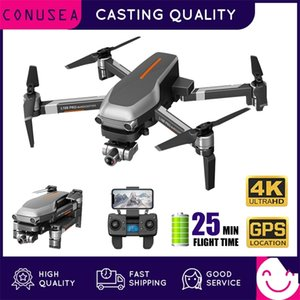 CONUSEA L109 Pro Drone 4K Professional GPS Quadcopter with Camera HD FPV 2-Axis Gimbal Brushless Motor 1200m RC Dron VS F11 Pro 201221