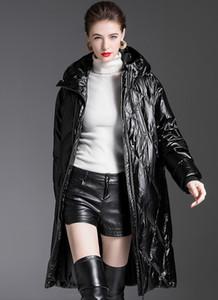 New Arrivals 20331# Original Desginer JOG MCERG Hooded Down Jacket Winter Long Loose Casual Down Coat S-XL