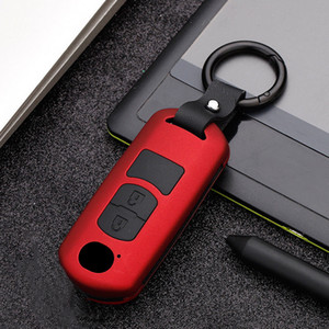 ABS+Silicone Car Remote Key Cover Case for Mazda 3 6 BL BM GJ Atenza Axela CX-5 CX5 KE KF CX3 CX7 CX9 MX5