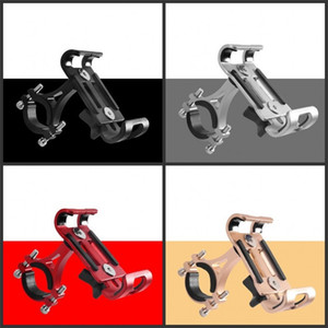 Aluminium Alloy Fixing Frame Riding Mountain Bike Motorcycle Bracket Wear Resistant Mobile Phone Holder Rotatable 9 5bg O2