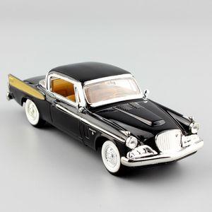1/43 Maßstab Mini Deluxe 1958 Stubebaker Golden Hawk Hardtop Coupé Die Cast Metal Minze Modellfahrzeuge Auto Van Spielwaren für Kinder Boy Z1202
