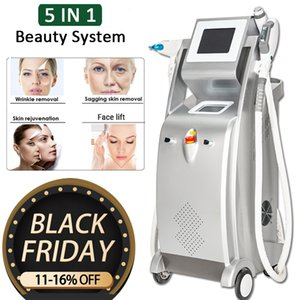 OPT SHR Hair Removal Machine 7 Fiters Acne Treatment Elight Skin Rejuvenation Face Body Care SHR IPL Laser Hair Reduction Beauty Equipment