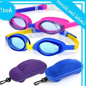 High Quality Strongly Anti-ultraviolet Silicone Junior Kids Waterproof Swimming Goggles With Case