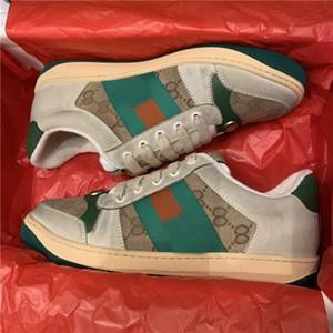 MGCN Genuine Men Modello Sneakers Donne Rivet Scarpe Casual Scarpe Ape Snake Pineapple Star Leather