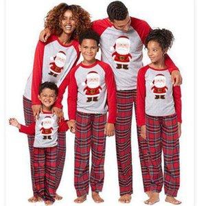 Mukatu Nuova coppia abiti Pigiama di Natale 2020 bambini mamma papà famiglia abbinata vestiti
