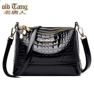Viejos bolsos de hombro Tang para mujeres 2020 Bolso Moda de mujer Boston Boston Bolsa de Crossbody PULIN PULINE Q1129