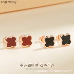 Pour S925 Argent Agate SIYECAO Boucles d'oreilles Coréen Femmes
