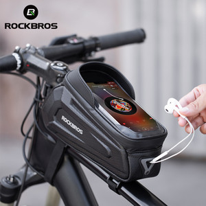 Rockbros Neues Design Radrahmen Front 8.0 Telefon Fall Rain Proof Touch Screen Bicycle Bag Bike Zubehör
