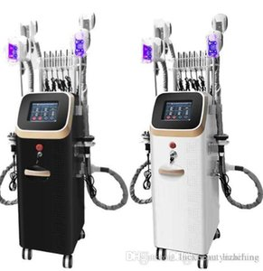 Puissant Cryolipolyse Cavitation Body Machine minceur Machine de beauté Laser RF Cool Machine 4 poignées Cryolipolysis machine