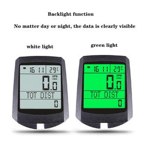 Factory Direct Selling Hot Sale Waterproof Bicycle Computer Wireless Mountain Bike Bicycle Odometer Stopwatch Speedometer Watch LED Digital