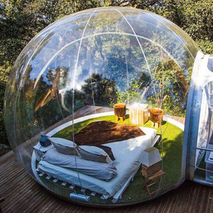 Inflatable Bubble House Outdoor Bubble Tent for Camping 4m Diameter Cheap Factory Price Free Shipping Free Blower