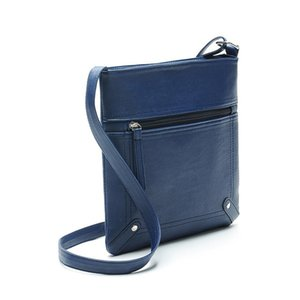 Ms Shoulder Long Span Messenger Lady Waist Bags Women The New Fashion Europe and America Rivet Normcore Minimalist Q1119