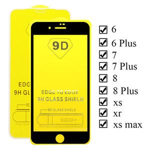 Protezioni per lo schermo del telefono cellulare in vetro temperato da 0,3 mm per iPhone12 11 Pro Max 8 7Plus 9H Anti antisprosione Anti Glossy Anti Scratch 9D