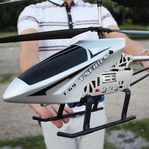 Alta Qualidade Big Remoto Controle de Aeronaves Charge RC Helicóptero 4CH Voo Resistente à Drop About 10 minutos com luz LED 201015