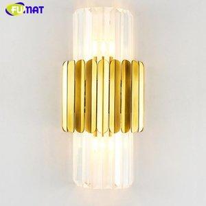 Fumat LED LIGHT LIGHT SCONCE Moderna lámpara de pared de la cama de la cama de la cama para la sala de estar Luces de pasillo de la sala de estar
