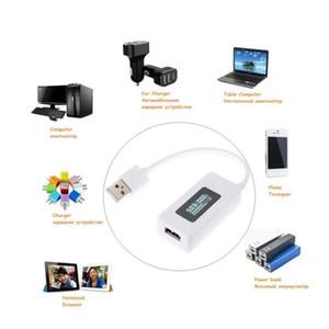 شاشة LCD مصغرة الإبداعية الهاتف usb تستر المحمولة الطبيب الجهد الحالي متر المحمول pow wmtskj sports2010