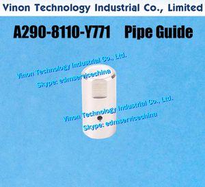 A290-8110-Y771 Guida al tubo inferiore per FANUC C, IA, serie IB. Parti di ricambio EDM Testa di estremità per il filo guida ai rulli A2908110Y771, A290.8110.Y771
