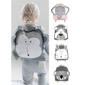 Baby Plush Backpack 3-8 Yrs Bags Cartoon Animal Children's Schoolbag Snacks Toys Storage Bag Children's Room Decoration Backpack C1204