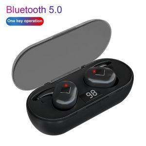 Q1 TWS Bluetooth 5.0 Fones de ouvido de redução de ruído sem fio sem fio para telefone