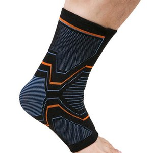 Elastic Knitted Sports Ankle Support Brace for Cycling Yoga Basketball Men Women Foot Joint Ankle Protector