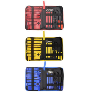 19 Pcs Car Radio Removal Disassembly Tool Set Auto Repairing Interior Pry Kit Door Clip Trim Dashboard Panel Remove Installer Ha