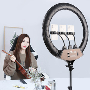 22 inch LED fill light net celebrity mobile phone live broadcast bracket selfie beauty beauty ring photography light