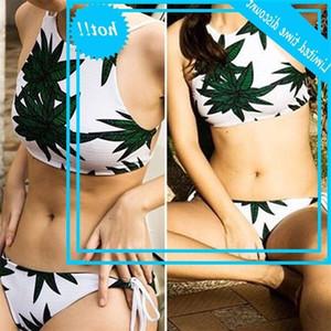 Women Bikini Set Bandage Push Up Wet Bathing Beachwear 2019 Fashion Polyester Beach Badpak