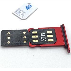 The Newest Original Chinasnow Unlock SIM MIX V1.39 for iP6S-XR 11 12Series Unlock Sim Card Gevey Pro Double-SIM ONESIM