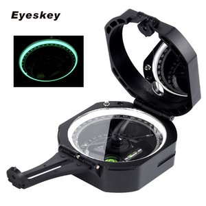 Eyeskey Professional Geological Compass Handheld Lightweight Outdoor Survival Military Compass for Measuring Slope Distance 201113