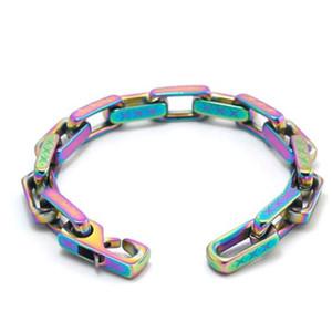 361 Titanium Steel Bracelet with Diamonds Shiny Unisex Bracelet High Quality Personality Chain Bracelet Fashion Jewelry Supply z221