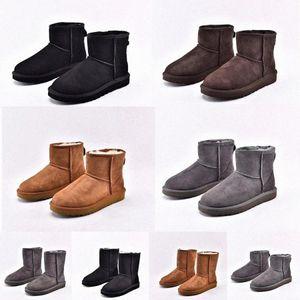 2020saustralia ug wgg Womensuggsuggugglis Classic tall half Women boots shoes Takato Snow Winter black slides ankl l4nS#