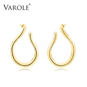 VAROLE Drop Earrings For Women Gold Color Long Earring simple Earrings Statement Earrings Fashion Jewelry