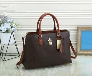 2021 Neue heiße Designer Luxus Satchel Messenger Handtasche Leder Strim Griffe mit Schultergurt Crossbody Bag French Bag