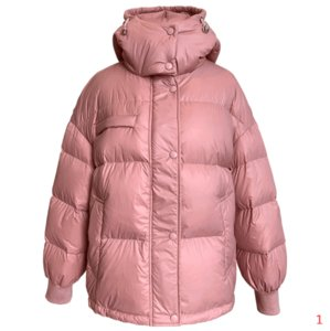 Hot Sale Women Fashion Coat 2021 Casual Hooded Parkas Single Breasted Windbreaker Warm Winter Coat 90% Thick White Duck Down Jacket 3 Colors