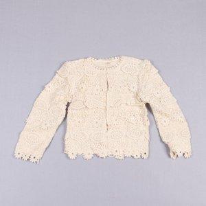 Clearance sale Girls Lace Shirts Children Clothing Long Sleeve T Shirts Popular Princess Shirt Kid Coa Girl Clothes Z171